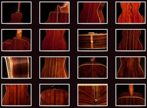 Cocobolo Guitar Photographs