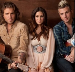 Gloriana's latest video - Kissed You Good Night