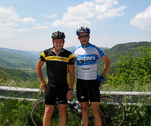 John Cash and Lance Armstrong