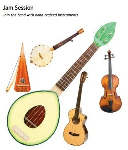 WNC Magazine handcrafted instrument feature