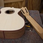 Custom Granadillo Baritone Ukulele Construction