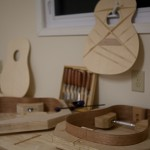 Guitar Building Workshop, Sept 2012