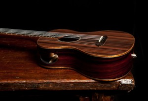 Kimo Hussey Custom Ukulele