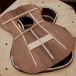 Custom Baritone Ukulele, granadillo and sinker redwood