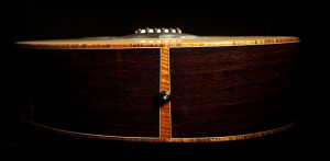 Custom Acoustic Guitar, Wenge Guitar