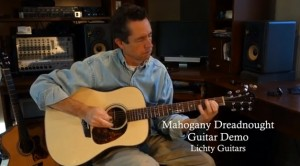 Mahogany Dreadnought Guitar Demo