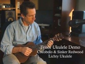 Cocobolo Ukulele Demo - Wet Chill