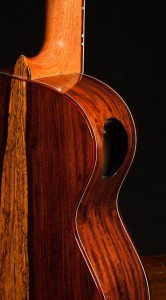Granadillo Tenor Ukulele with cedar top