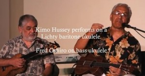Video: Kimo Hussey in Concert on a Lichty Ukulele