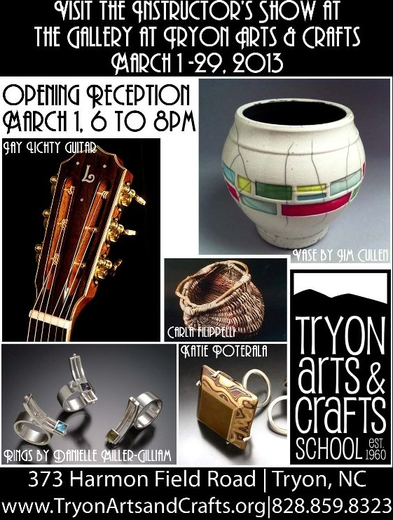 Tryon Arts and Crafts Instructors Show