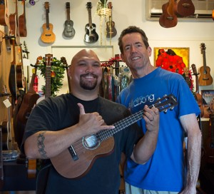 The Ukulele Site, Aaron and Jay