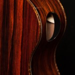 Cocobolo Baritone Ukulele Side Soundport