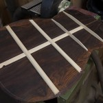 Custom Cocobolo Guitar Construction