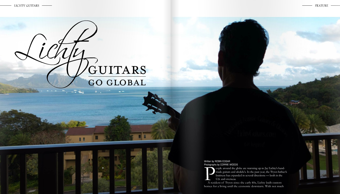 Life in Our Foothills Lichty Guitar Feature
