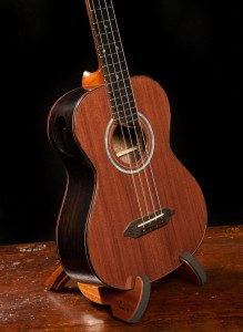 Custom Brazilian Rosewood Long Neck Tenor Ukulele, U65