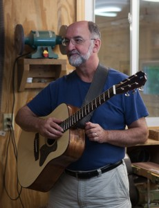 David Sprague, Guitar Building Workshop June 2013
