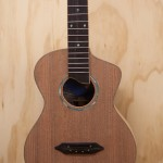 Cocobolo Long Neck Tenor Ukulele Construction, U53