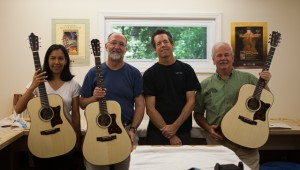 June 2013 Small Group Guitar BUilding Class - Lichty Guitars