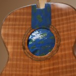 Asian Rosewood Long Neck Tenor Ukulele Construction, U55
