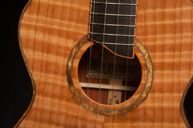 Custom Ukulele, Long Neck Tenor Ukulele U55