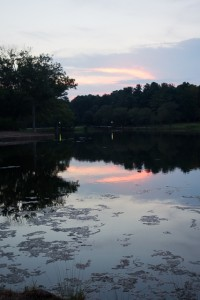 Furman University sunset