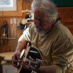 Acoustic Guitar Building Workshop - Doug Dacey - final days