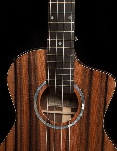 Wenge and Sinker Redwood Tenor Ukulele-6