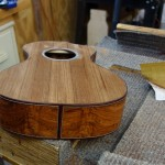 Granadillo Custom Baritone Ukulele Construction, U70
