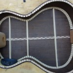 Wenge Custom Tenor Ukulele Construction, U69