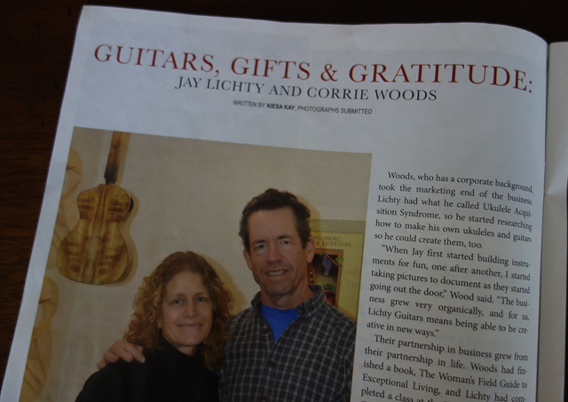 Progress - Guitars, Gifts and Gratitude Article