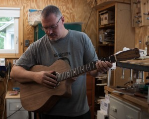 Rollie's Guitar - Guitar Building Workshop, July 2014
