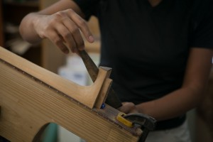 Guitar Building Workshop Aug 2014 - Days 5-10-9