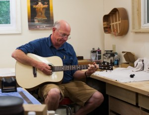 Guitar Building Workshop Aug 2014 Student