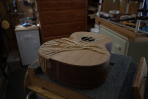 Custom Crossover Guitar Construction, G81, page 3-24