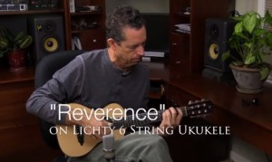 Reverence on 6 string uke