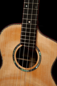 African Blackwood Custom Ukulele, U88-9