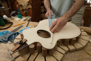 Lichty Archtop Build G86-14