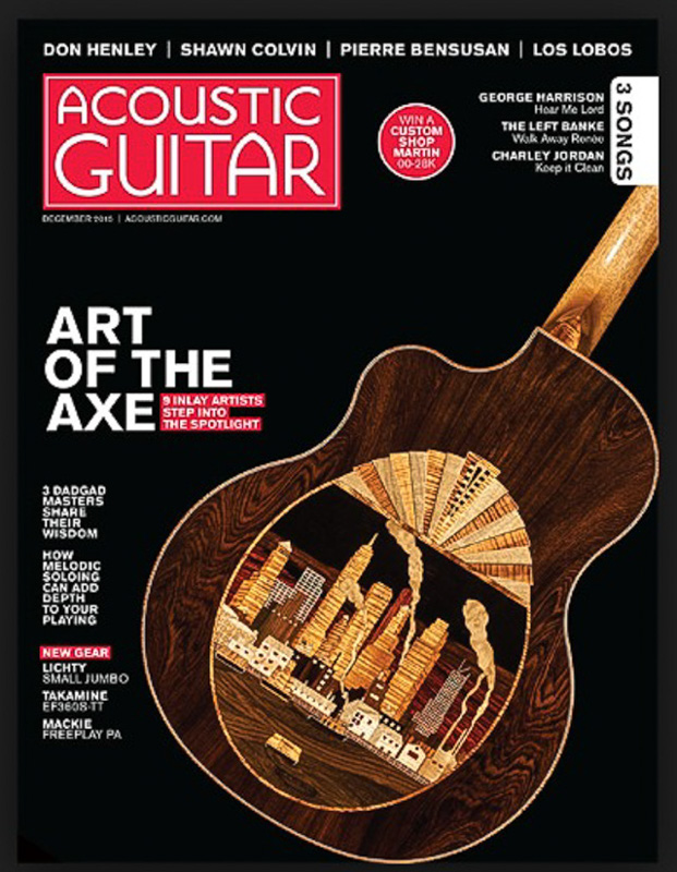 Acoustic Guitar magazine Lichty Guitar Review