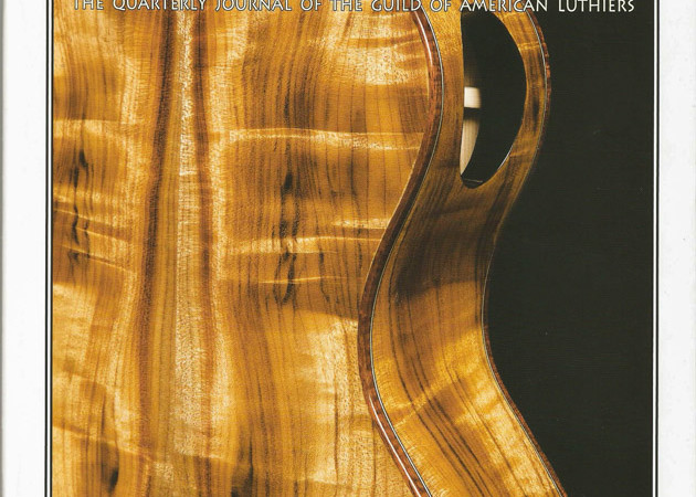 American Lutherie magazine