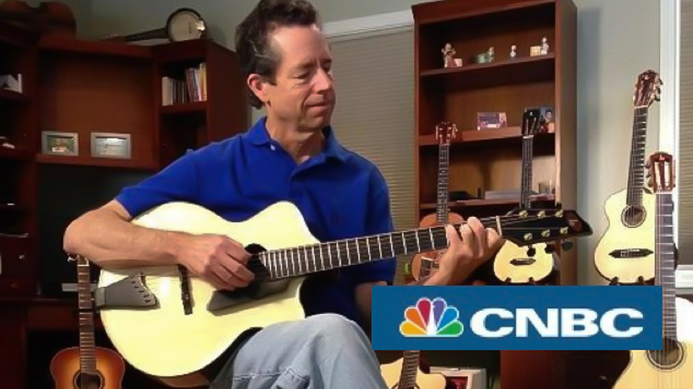 CNBC - Lichty Guitars Featured