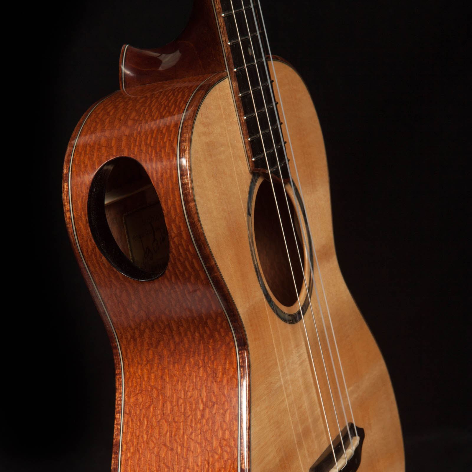 Custom Ukulele Soundport