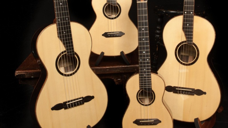 Custom Guitars and Ukuleles