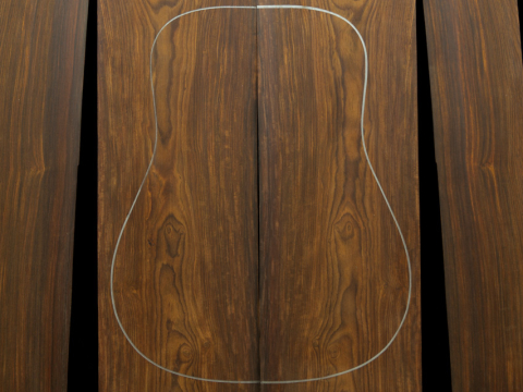 Cocobolo Guitar Tonewood Gallery