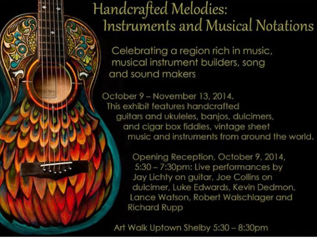 Handcrafted Melodies Exhibit