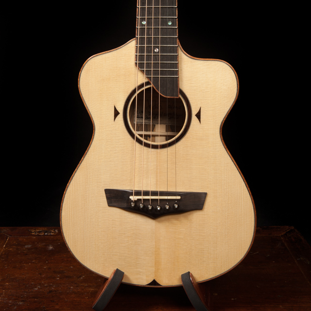 Lichty Custom 6 String Baby Bard