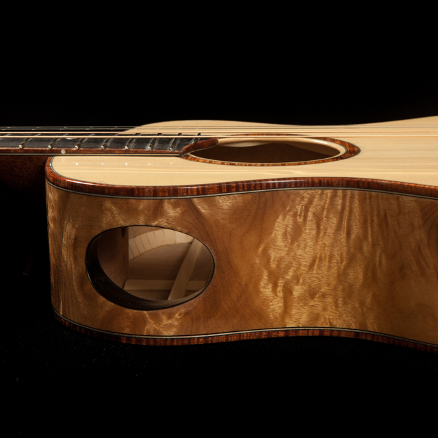 Myrtlewood Ukuleles and Guitars