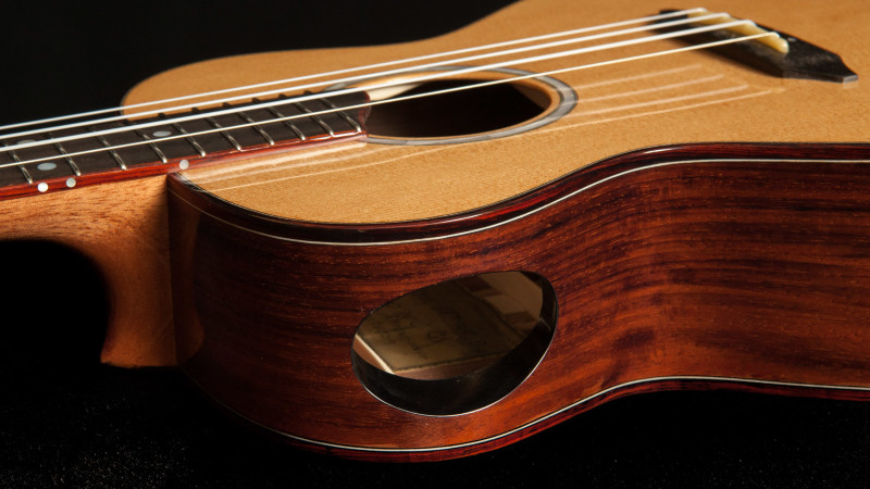 Ukulele soundport