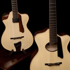Archtop Lichty Guitar and Ukulele