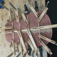 Bubinga Custom Acoustic Guitar Construction