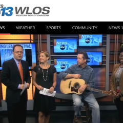 WLOS Spotlights Lichty and LEAF